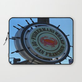 Fisherman´s Wharf Sign Laptop Sleeve