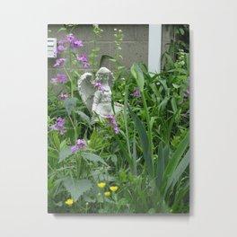 garden angel 3 Metal Print
