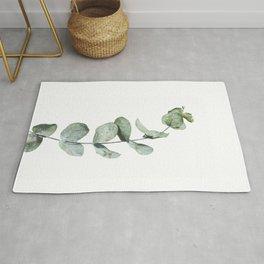 Eucalyptus, Minimalist Photography Rug
