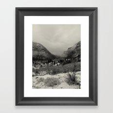 Telluride Mist Framed Art Print