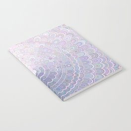 Pale Flower Mandala Notebook