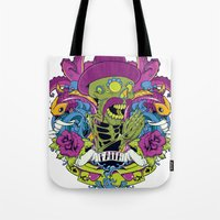 faith Tote Bags featuring Faith by Tshirt-Factory