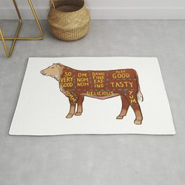 Cow Cuts Rug