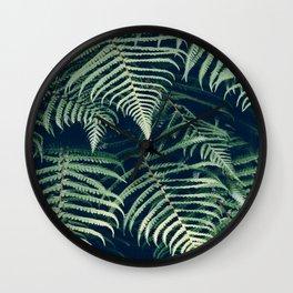 leaf design Wall Clock