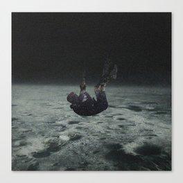 Falling space man Canvas Print
