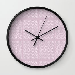 Sparkle Butterflies #2 Wall Clock