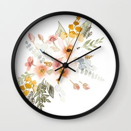 Your Mind Is Garden Wall Clock