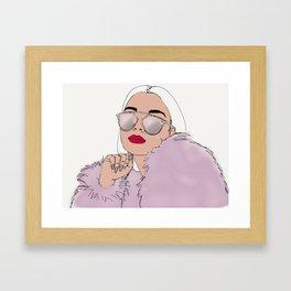 You deserve Framed Art Print