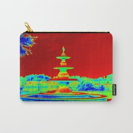 Colorful Fountain Carry-All Pouch