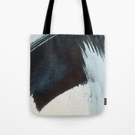 Like A Gentle Hurricane [2]: a minimal, abstract piece in blues and white by Alyssa Hamilton Art Tote Bag