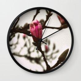 Vintage Tulip Tree Wall Clock