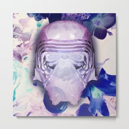 K. Ren (Diamond Floral Edition) Metal Print