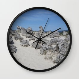 Stone forest Wall Clock