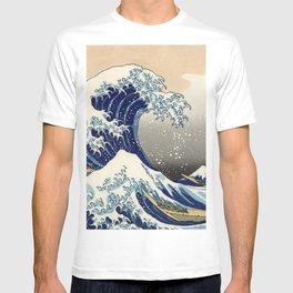 "Katsushika Hokusai ""The Great Wave off Kanagawa"" T-shirt"