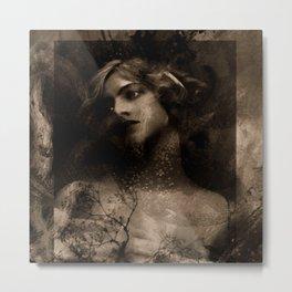 Vintage Beauty Metal Print