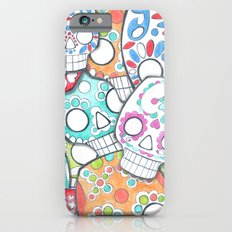 skulls sugar Slim Case iPhone 6s