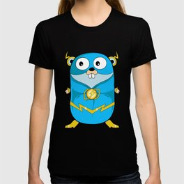 Golang - Iris Gopher T-shirt