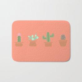 Cute Cacti Bath Mat