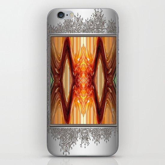 Intrepid Zigzags iPhone & iPod Skin