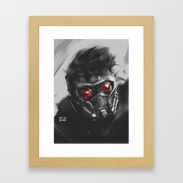 SLord Sketch Framed Art Print