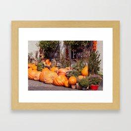 The pumpkin Framed Art Print