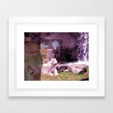 tigers in ohio Framed Art Print