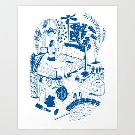 Party II Art Print