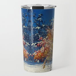 The First Snow Travel Mug