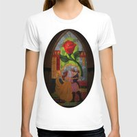 beauty and the beast T-shirts featuring Beauty and the Beast by Jillian Stanton
