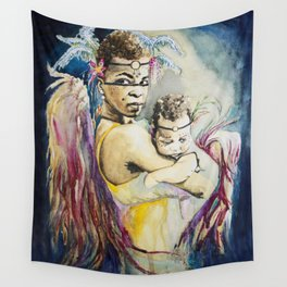 Mother Mary. Tribal Edition. Wall Tapestry