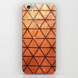 Woven #2 Bronze iPhone Skin