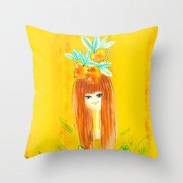 Tropical Girls - Stefani Throw Pillow