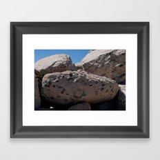 Salt Lake Scenery V Framed Art Print