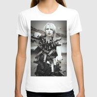 guns T-shirts featuring Guns by Pedro E Bauza