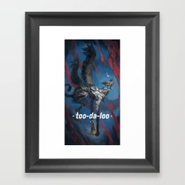 Too-Da-Loo Framed Art Print