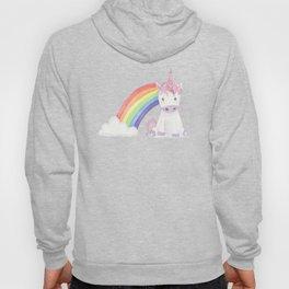 Kawaii Unicorn with Candy and Rainbows Hoody