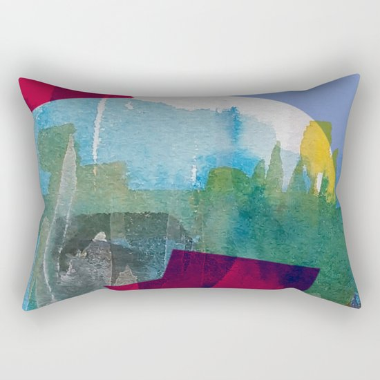 Hole in one 5 Rectangular Pillow