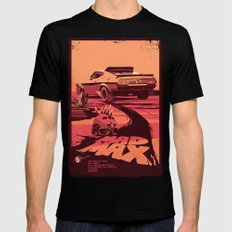 Mad Max Black LARGE Mens Fitted Tee