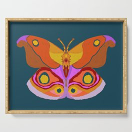 Empress Butterfly Serving Tray