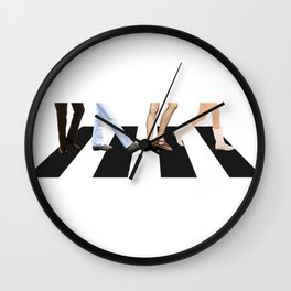 Quentin Tarantino Once upon a time in hollywood abbey road Wall Clock