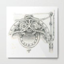 architecture sketch Metal Print