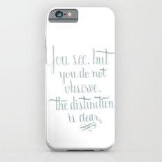 Observation iPhone 6s Slim Case