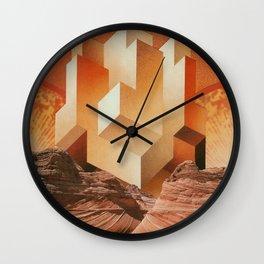 HEAT-INDUCED INSANITY Wall Clock