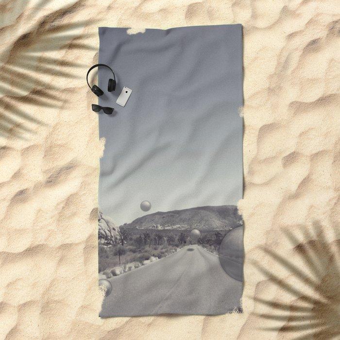 Roadtrip Beach Towel
