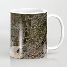 Snowy Ironbridge Gorge Coffee Mug