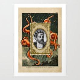 The Gentleman Caller Art Print