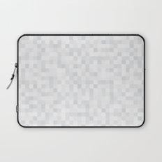 White Cubism Laptop Sleeve