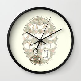 How To Tie a Bow Tie Wall Clock