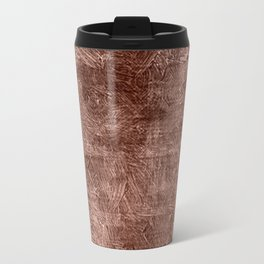 Cognac Oil Painting Color Accent Travel Mug