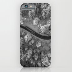 Snow pine forest iPhone 6s Slim Case
